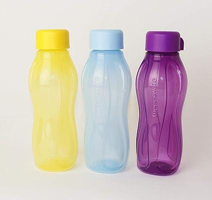 Tupperware Trinkflasche 310 ml Hellblau Schraubverschluß