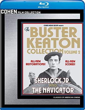 The Buster Keaton Collection - Volume 2 (Sherlock Jr. / The Navigator) [Blu-ray]