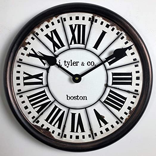 French Tower Wall Clock, Available in 8 Sizes, Most Sizes Ship The Next Business Day,