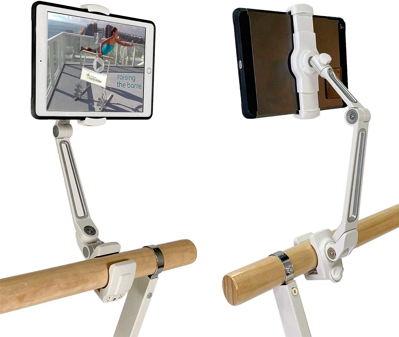 Booty Kicker Tablet Holder for Home Fitness Exercise Barre