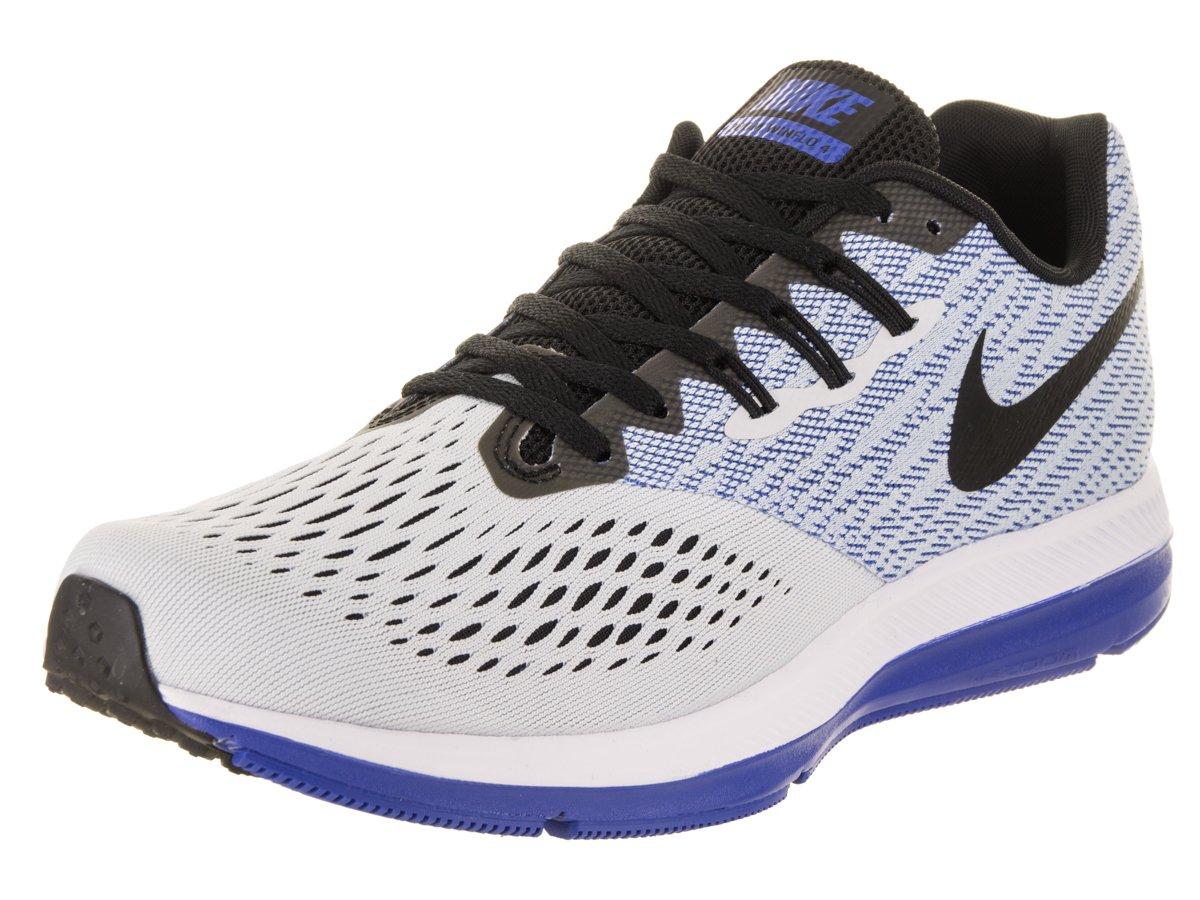 Nike Zoom Winflo 4, Zapatillas de Running para Hombre 43 EU|Multicolor (Pure Platinum / Black 010)
