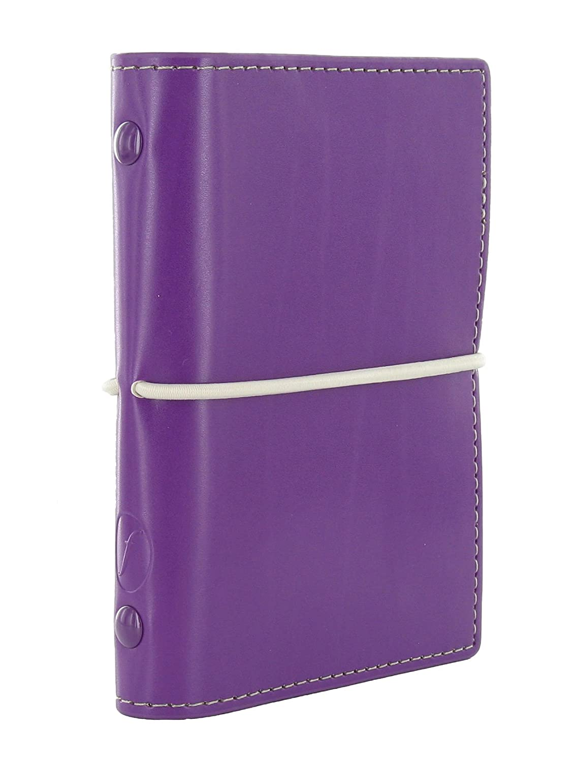 Filofax Domino - Mini agenda archivador, color morado ...