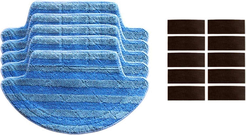 KCWASD 진공품 교체 로봇의 진공 청소기 청소 피복 스티커 부속품 적합한 아이 라이프 V55 프로 로봇의 진공 청소기 부분이클리닝 청소 보충 교체 주요 브러쉬 브러쉬는 액세서리