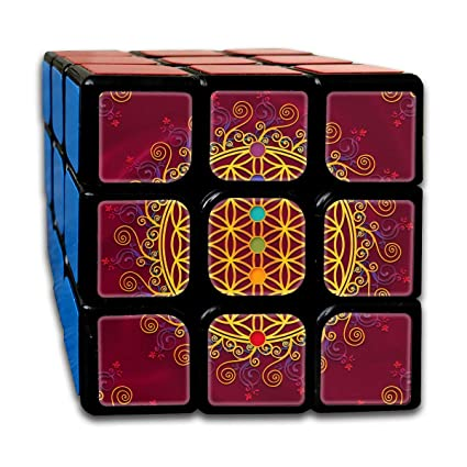 Amazon.com: Rubiks Cube by DAIYU Flower of Life Chakras ...