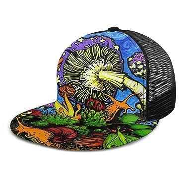 Setas del Bosque pintadas Sombrero de Mezclilla de Vaquero ...