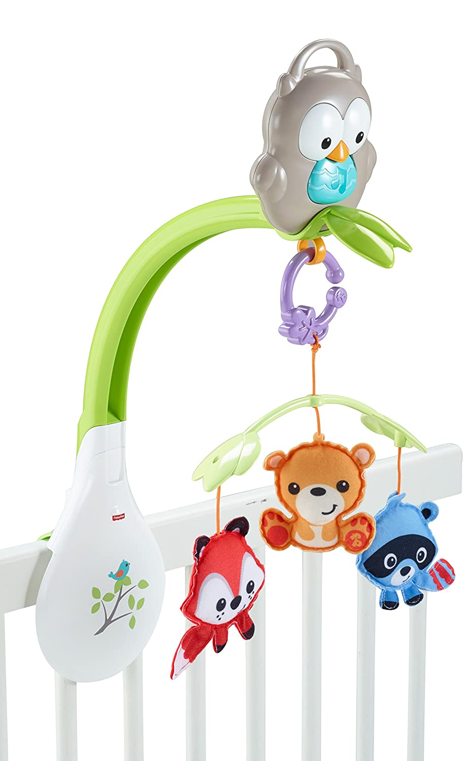 fisher price woodland friends musical 3 in 1 mobile crib lullaby music for baby ebay. Black Bedroom Furniture Sets. Home Design Ideas