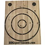 BIGSHOT Wooden Axe Throwing Target with Bottle Opener