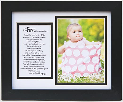 Amazon.com : The Grandparent Gift Frame Wall Decor, First ...