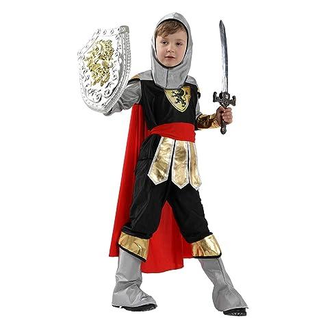 LOLANTA 5pcs Niños Noble Knight Outfits Medieval Prince ...