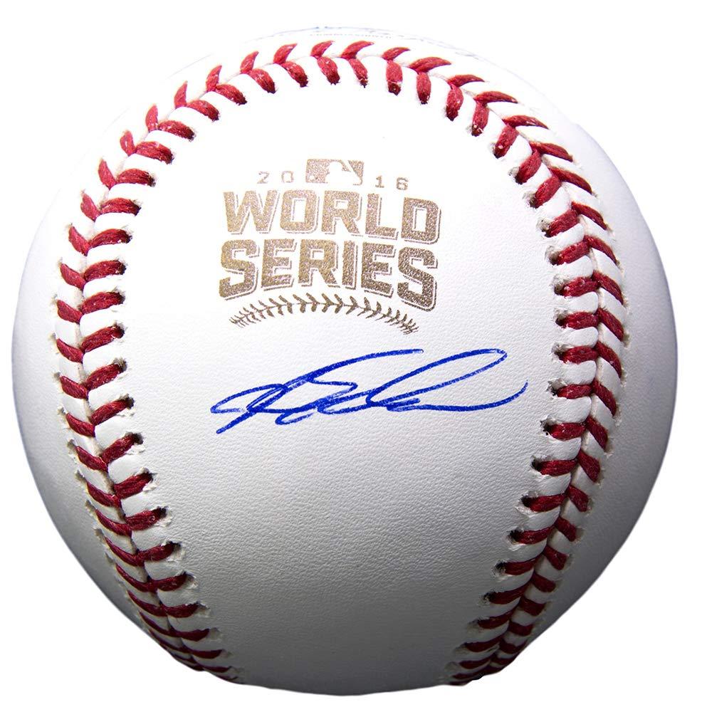 Kyle Schwarber Signed Chicago Cubs 2016 World Series Baseball BAS