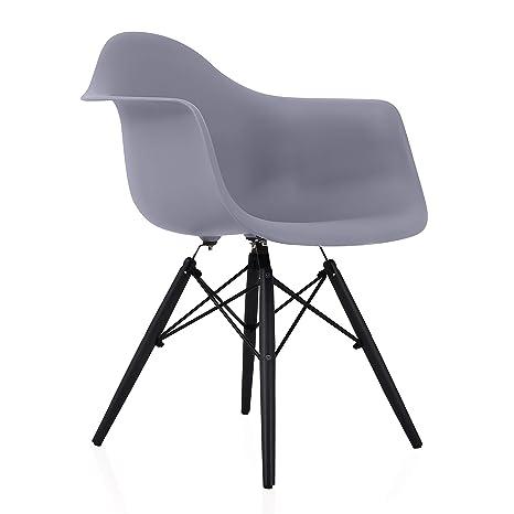 Phenomenal Amazon Com Cozyblock Eames Style Daw Scandinavian Dark Cjindustries Chair Design For Home Cjindustriesco