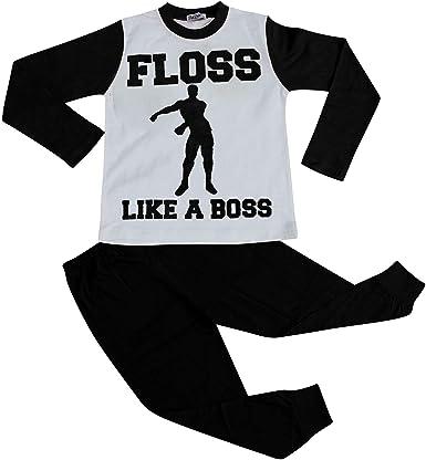 floss like a boss White kids tshirt Age 7-8 years.