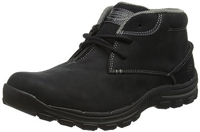 cheap for discount 4e70e 719fc Skechers Braver - Horatio, Bottes Classiques Homme - Noir - Black (Blk -  Black