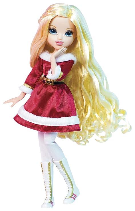 amazon com moxie girlz holiday doll avery toys games