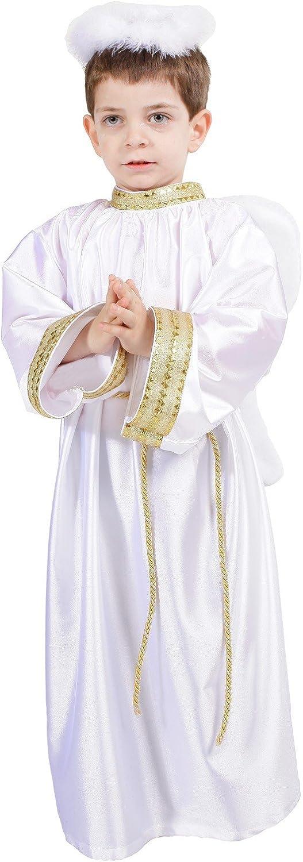 Disfraz de angelito celestial infantil - 3-5 años: Amazon.es ...