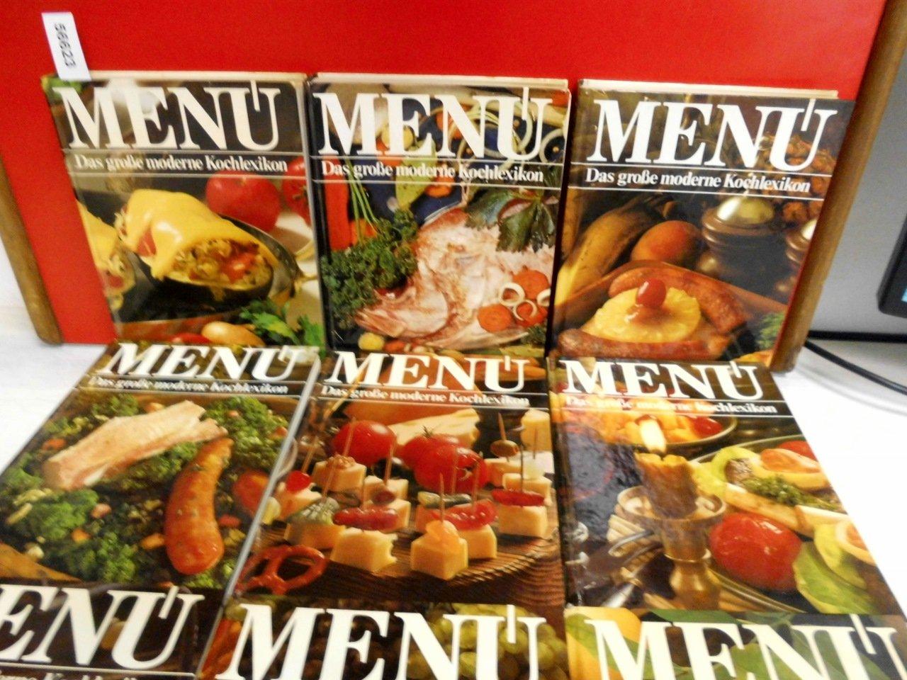Menu - das große moderne Kochlexikon Bd. 1 - 10: Amazon.de ...