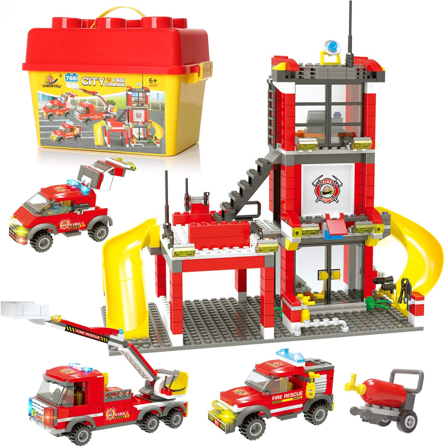 LEGO CITY Lego City Playset Fire Engine 60212 Emergency Rescue New!