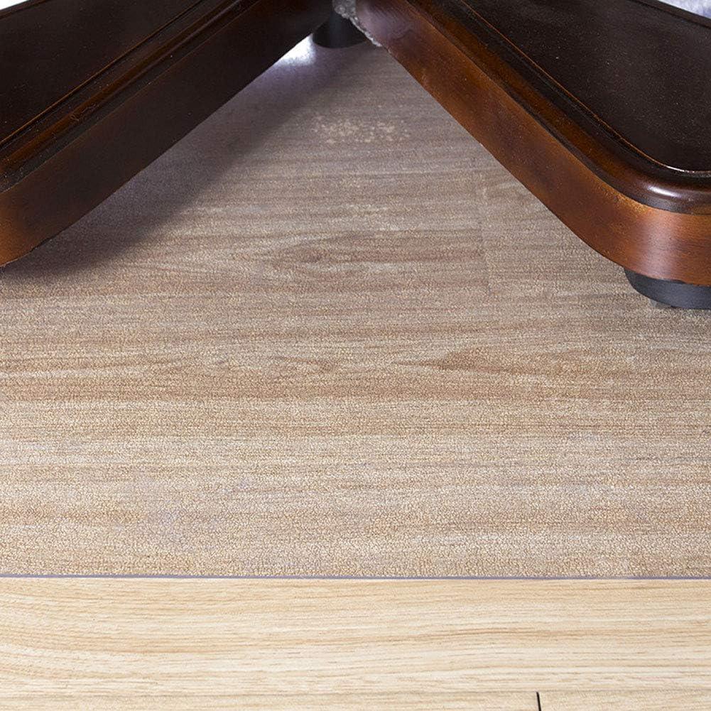 Q/&Z Tappeto Trasparente,1.5mm Sedia Tappetino Salvapavimento Antiscivolo Coperchio di Protezione del Pavimento Anti Sporco Sicuro per Pavimenti Duri 4 Taglie Disponibili