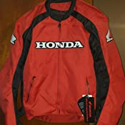 Amazon.com: Honda Supersport textil chamarra, Negro: Automotive