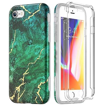 Amazon.com: SURITCH Funda de mármol para iPhone 8 y iPhone 7 ...