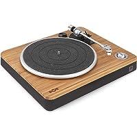 House of Marley Stir It Up Turntable Turntable, 45/33 Turns, aluminiumlegering plaat, stijve metalen arm, Audio-Technica…