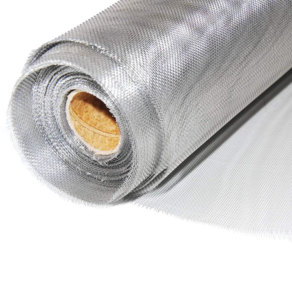 1 m x 12,5 m Rolle DS: 0,25 mm Edelstahl Drahtgewebe Fliegengitter Gaze MW: 1,40 mm