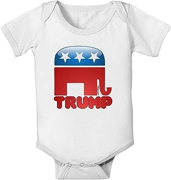 TooLoud Trump Bubble Symbol Infant T-Shirt Dark