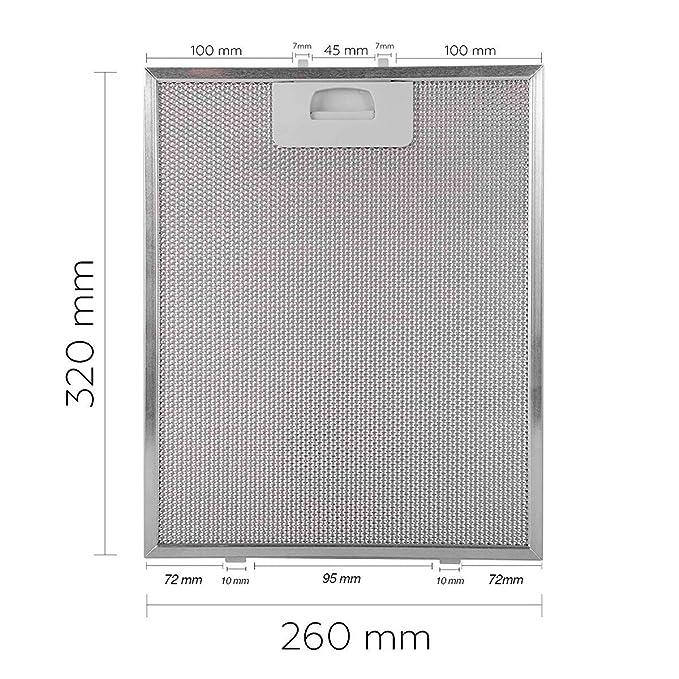 Amazon.com: Filter Cooker Hood Teka DM60 DM90 DE90 DS90 ...