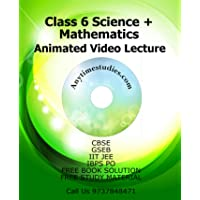 Anytimestudies Class 6 Science + Mathematics Video Lecture in Hindi&English ( DVD)
