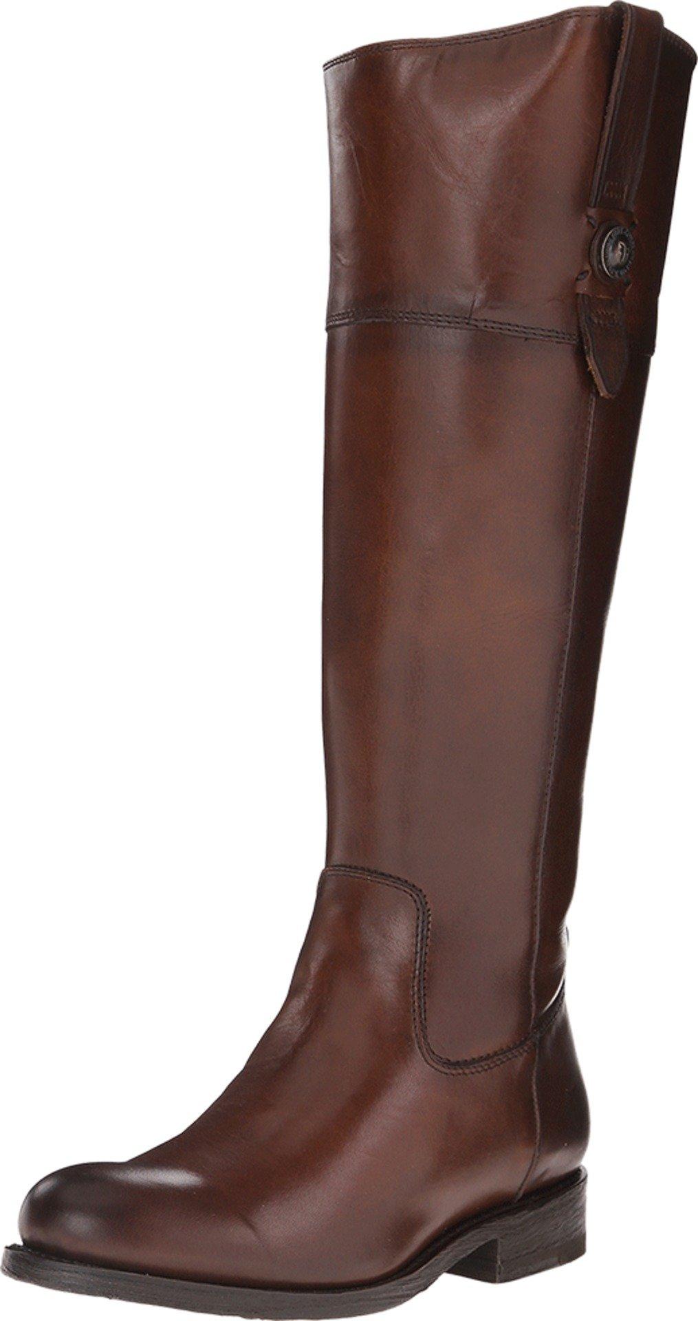 FRYE Women's Jayden Button Tall-SMVLE Riding Boot, Redwood, 10 M US