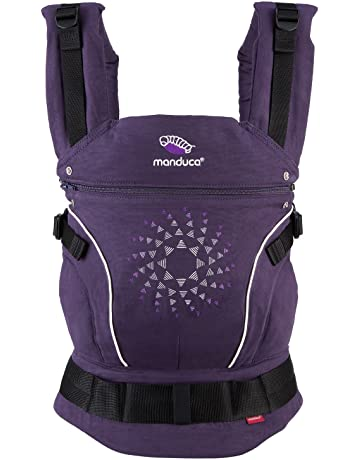 manduca First Baby Carrier > PureCotton < Mochila Portabebe Ergonomica, Algodón Orgánico, Extensión de