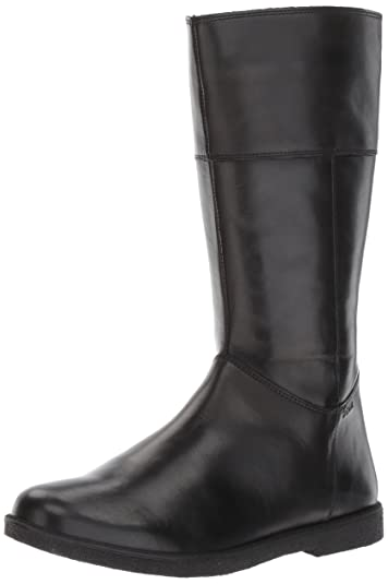 72cb966a7061 Geox Shawntel Girl 4 Knee High Boot Black 26 M EU Toddler (9 US)