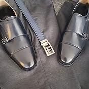 Amazon.com: COMOTEK Zapatos clásicos de cuero de grano ...
