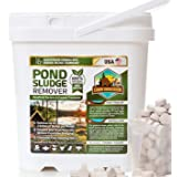 Pond Sludge Remover – Beneficial Pond Bacteria & Enzyme Treatment - 100% Natural Muck Digester – Safe for All Aquatic Life an