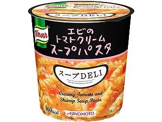 クノール スープDELI エビのトマトクリームスープパスタ