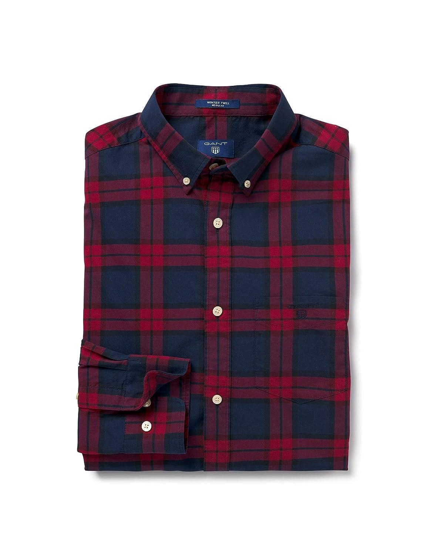 Gant Camicia Sportiva Uomo  Amazon.it  Abbigliamento 96bfc1c94e7