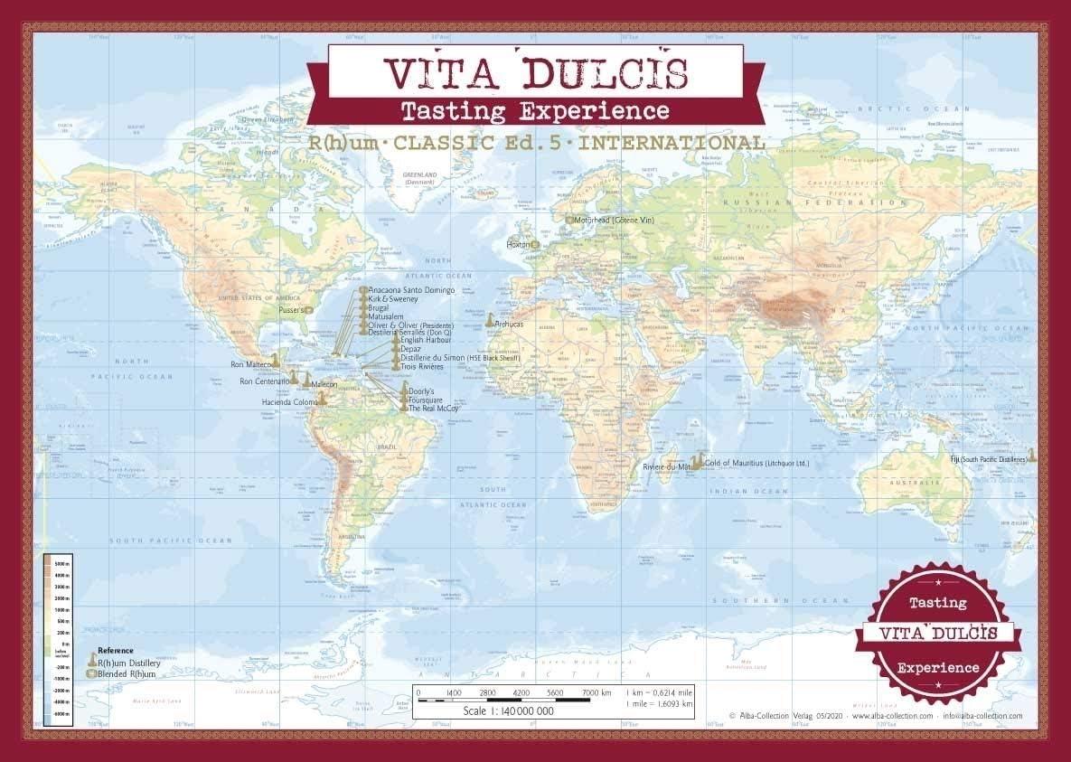 Calendario de Adviento Ron Edición clásica 2020 - Vita Dulcis -24x0,02l: Amazon.es: Alimentación y bebidas