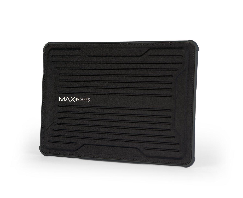 Max Cases Rugged Laptop Sleeve Notebook Sleeve - MacBook Air 13, MacBook Pro 13, MacBook 12, IPad Pro 12.9, MS Surface Pro 3/4, HP X2-1012, TP 12.5 - Magnetic Closure - Black
