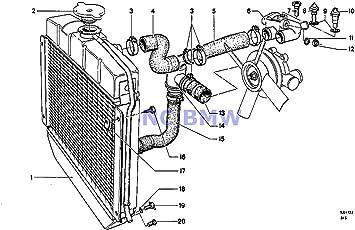 Amazon.com: BMW Genuine Radiator Cooling System Thermostat Divider 1602  2002 320i 2000: AutomotiveAmazon.com