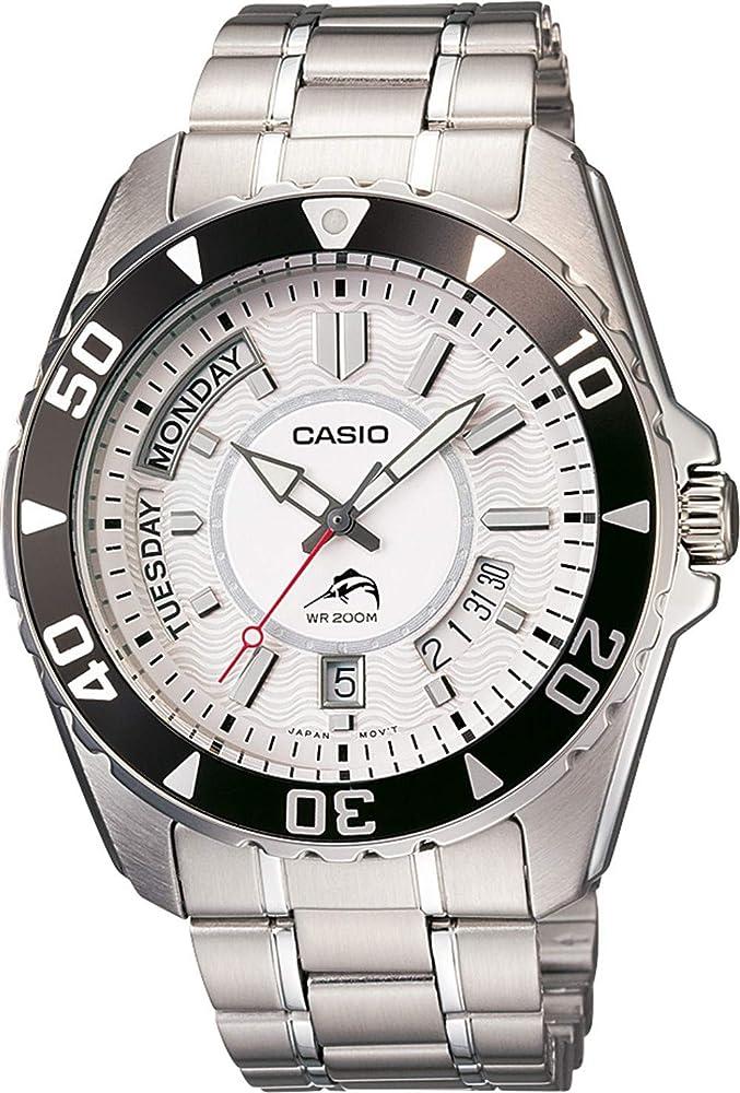 Mdv 7aAmazon 200 Casio Analogico Duro Reloj 103d esRelojes 1FJTKc3l