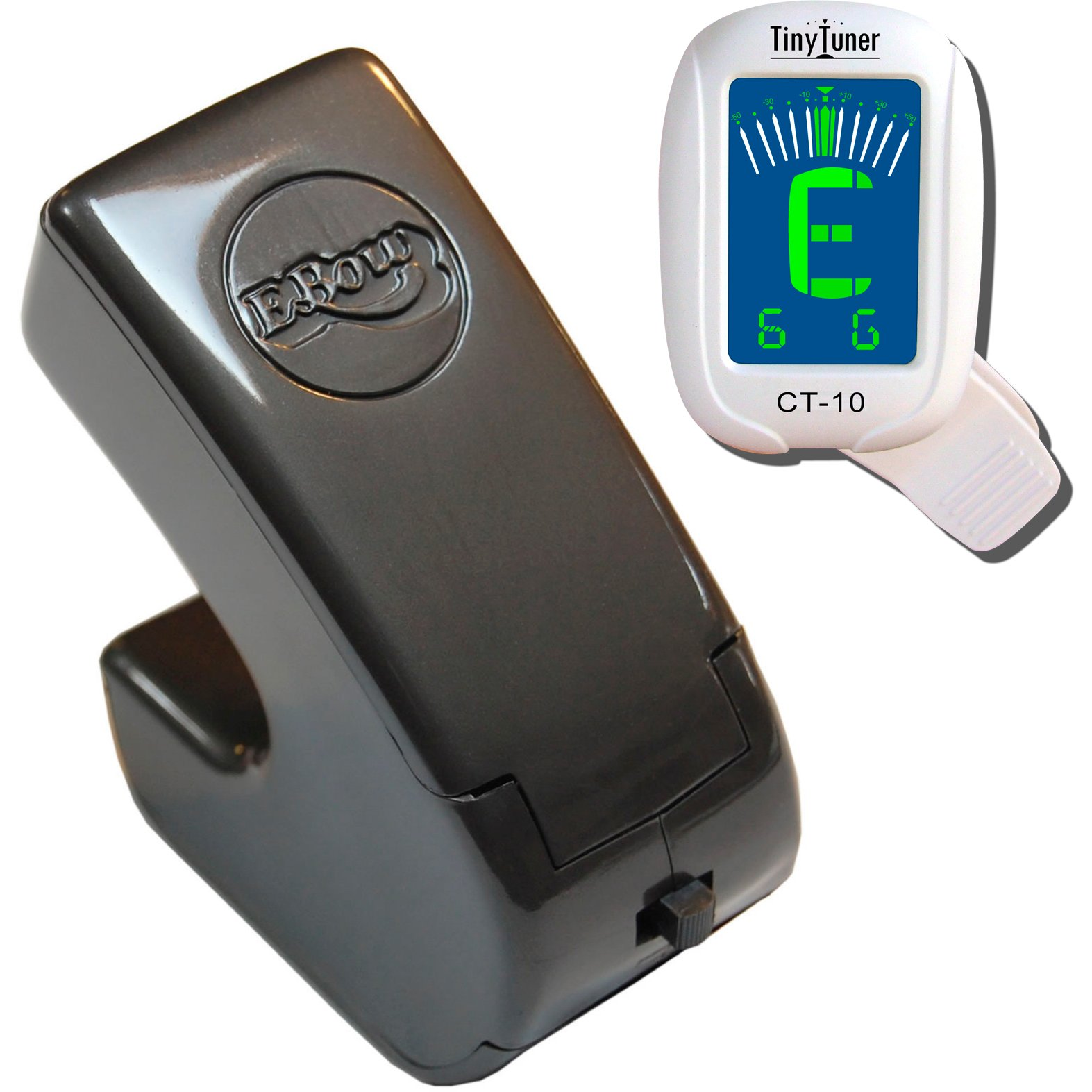 Heet Sound Plus EBow Electric Bow for Guitar with FREE TinyTuner CT-10 Clip-on Chromatic Tuner