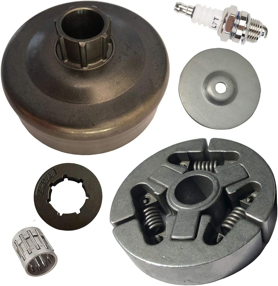 """Clutch Bell 404/"""" 7z with holes for STIHL 050 AV Chain Sprocket"""