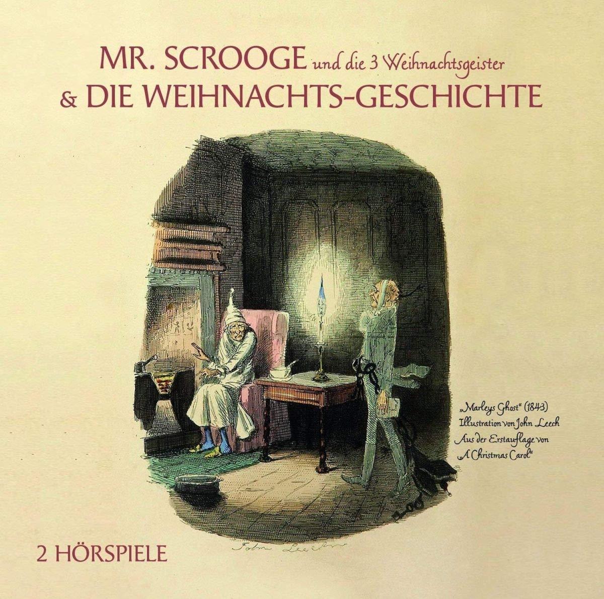 Mr Scrooge&die 3 Weihnachtsgeister/die Weihnachtsg - Various: Amazon ...