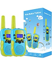 Selieve Toys for 3-12 Year Old Boys, Walkie Talkies for Kids 22 Channels 2 Way Radio Toy with Backlit LCD Flashlight, 3 Miles Range for Outside Adventures, Camping, Hiking