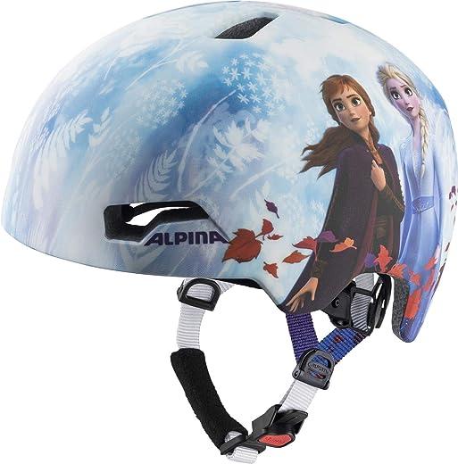 71i5gx2f 7L. AC SL520  - ALPINA Hackney Disney Helm Kinder Frozen II 2021 Fahrradhelm
