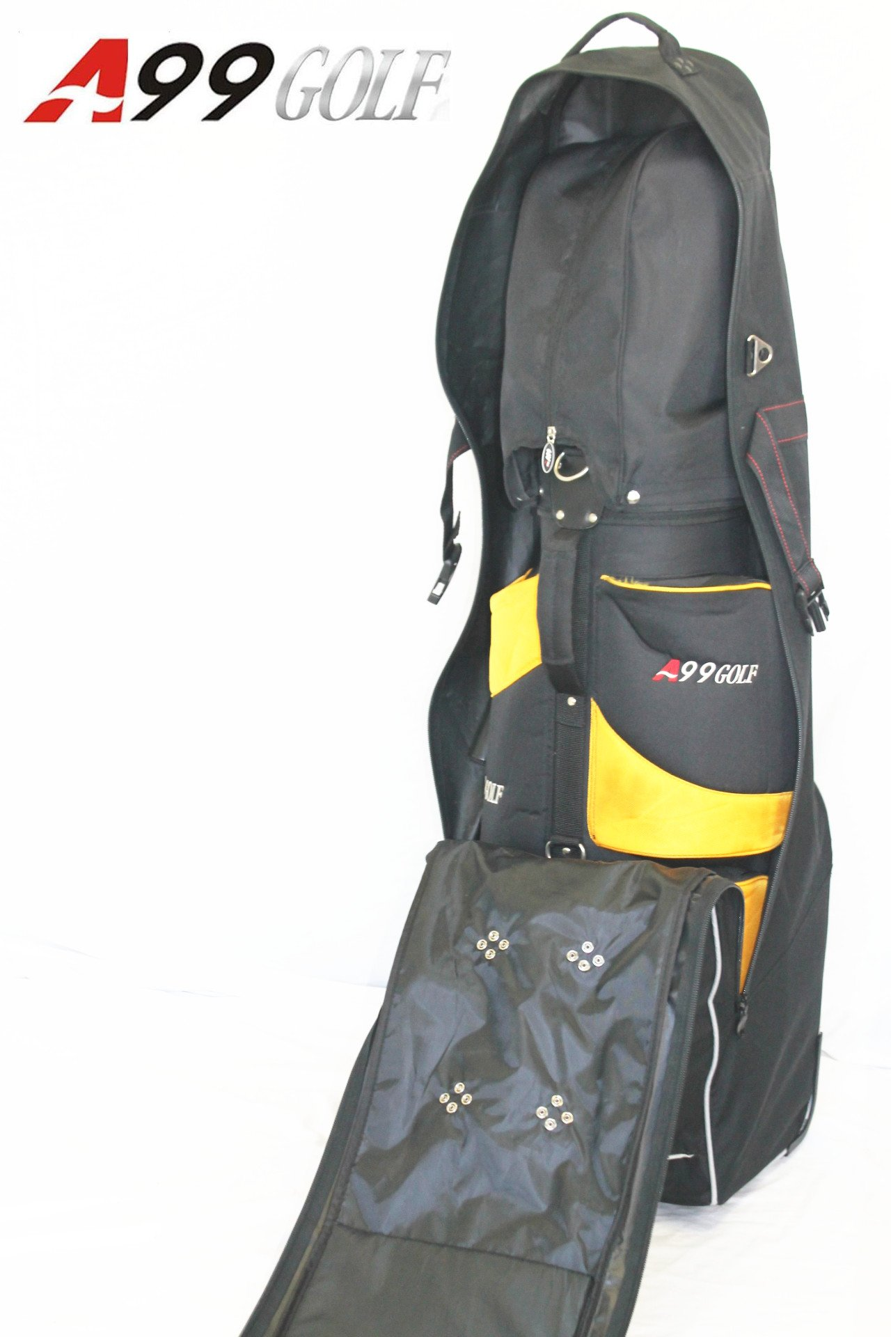A99 Golf NEW T04 Black Travel Cover Whieeled Bag by A99 Golf (Image #5)
