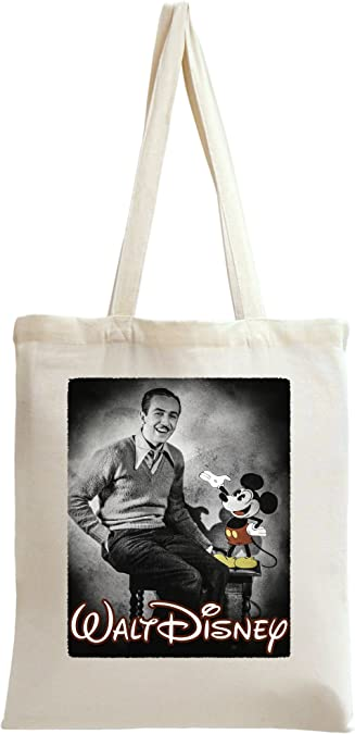 Walt Disney Retro Photography With Mickey Tote Bag: Amazon