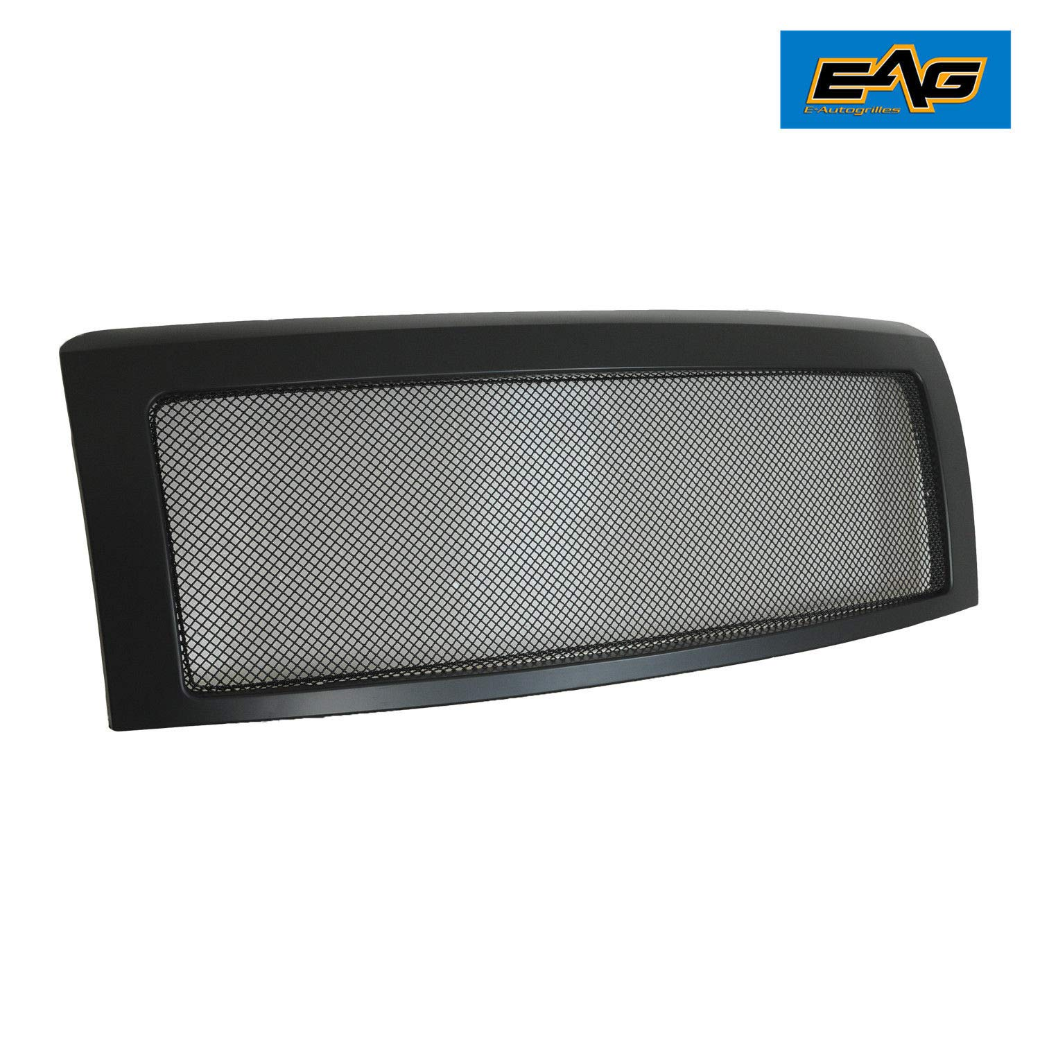 EAG Matte Black Replacement Grille Stainless Steel Mesh with ABS Shell Fit for 09-14 Ford F150