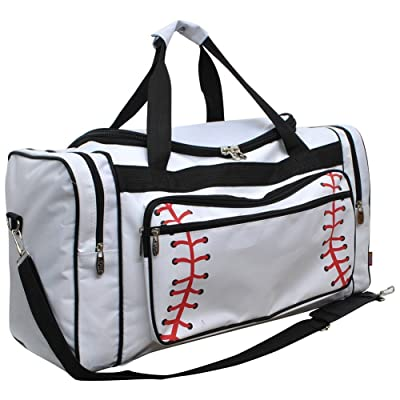 a5dfcee71a67 Baseball White Print NGIL Canvas Carry on Shoulder 23