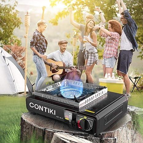 BDRateful - Hornillo de Gas de Camping portátil con Doble ...